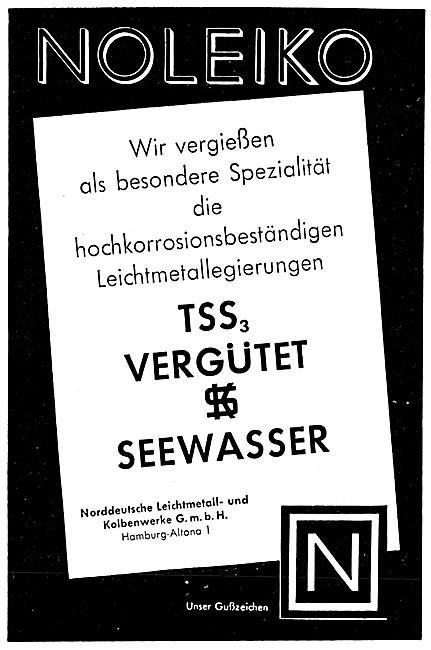 Norddeutsche Leichtmetal - TSS3 Vergutet & SEEWASSER