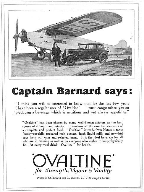 Ovaltine For Strength, Vigour & Vitality