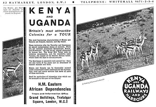 Visit Kenya & Uganda Tourism 1934