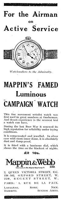 Mappin & Webb Luminous Campaign Watch