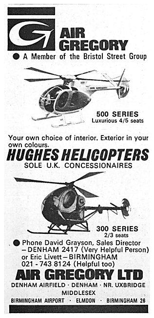 Air Gregory - Hughes