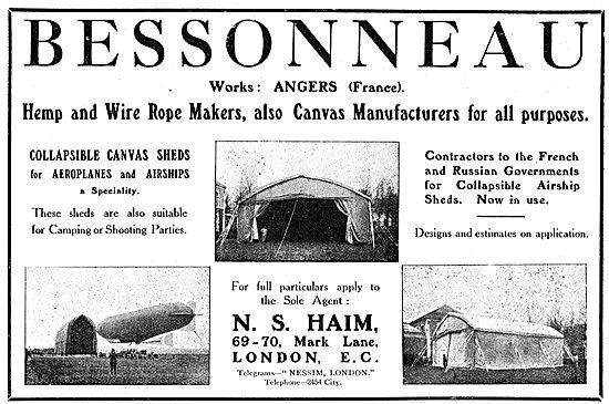 N.S.Haim Bessonneau Hangars