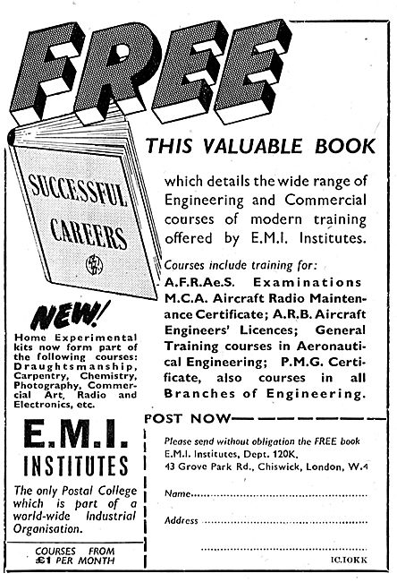 Study For An Aeronauitcal Engineering Career With EMI Institutes