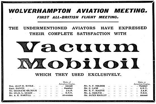 Vacuum Mobiloil