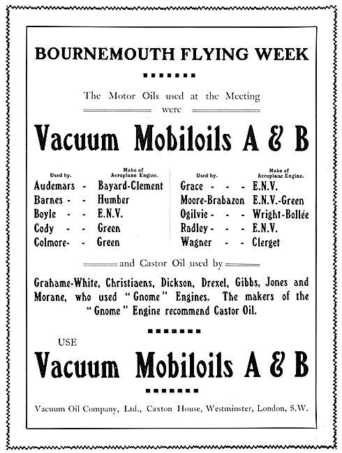 Vacuum Mobiloils A & B