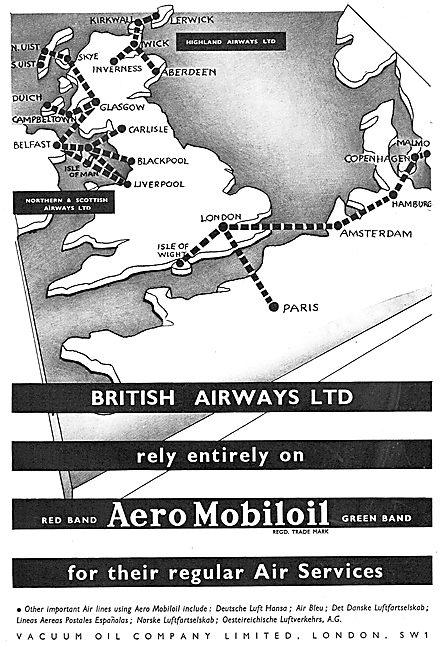 Aero Mobiloil - British Airways