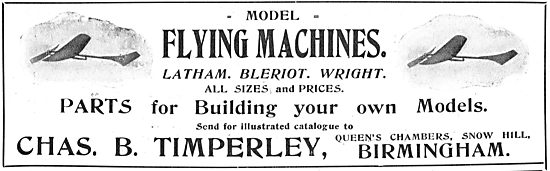 Chas B.Timperley Model Flying Machines