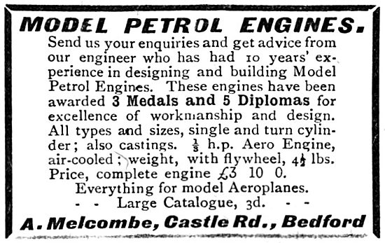 A.Melcombe. Model Aircraft Supplies & Accessories