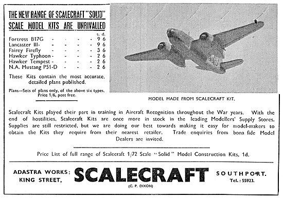 Scalecraft Model Aircraft
