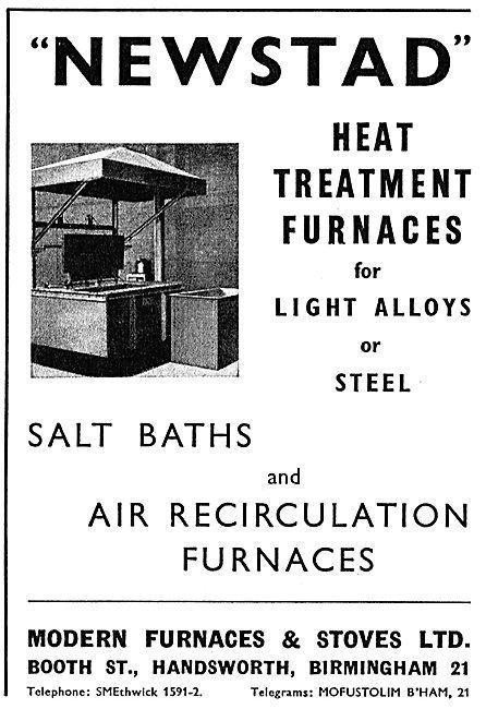 Modern Furnaces & Stoves Ltd : Heat Treatment Furnaces