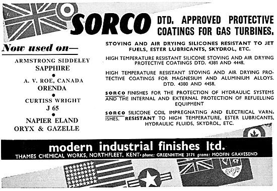 Modern Industrial Finishes Ltd - SORCO DTD 900/4253
