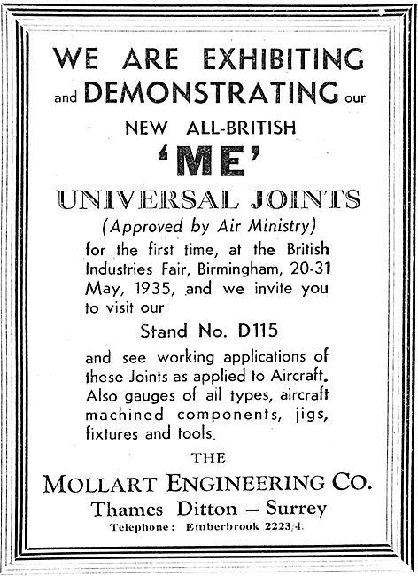 Mollart 'ME' Universal Ball Joints