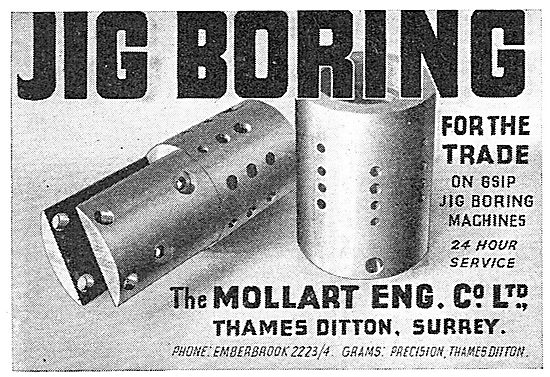 Mollart Universal Ball Joints - Jig Boring For The Trade