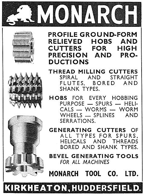 Monarch Tool Company Machine Tools