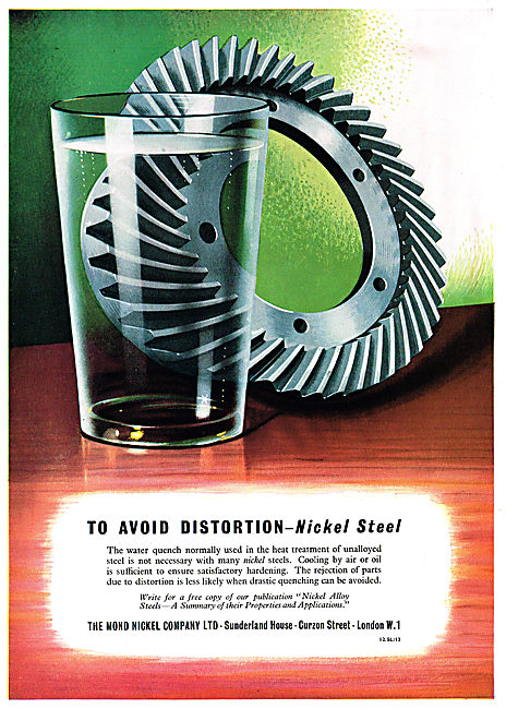 Mond Nickel Steel - 1950