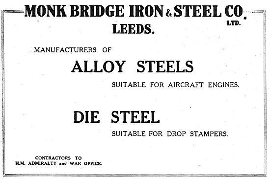Monkbridge Iron & Steel - Manufacturers Of Alloy Steels