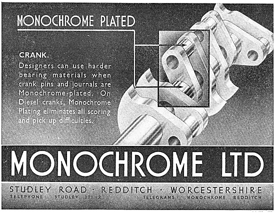 Monochrome Electrroplating - Monochrome Plated