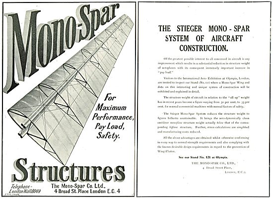 Monospar Aircraft Structures For Maximum Performance & Safety
