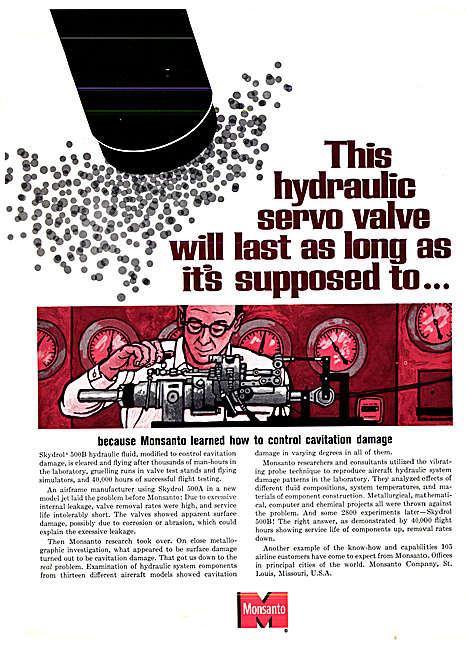 Monsanto Skydrol Hydraulic Fluid