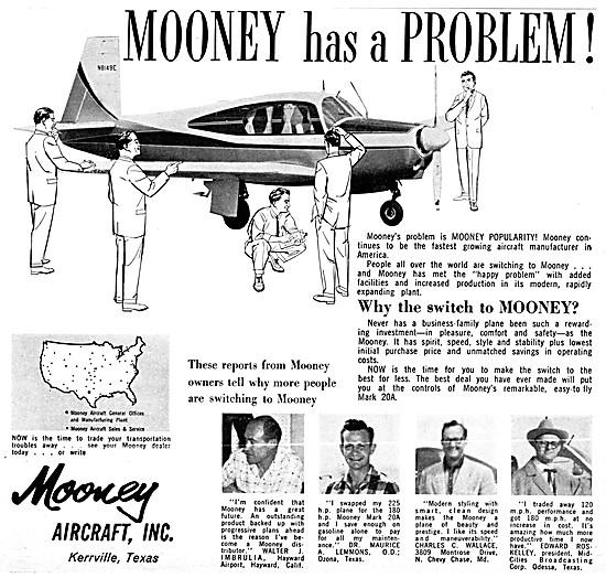 Mooney Aircraft 1960