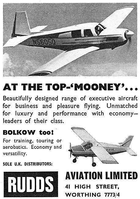 Mooney Aircraft Uk - Rudds Aviation