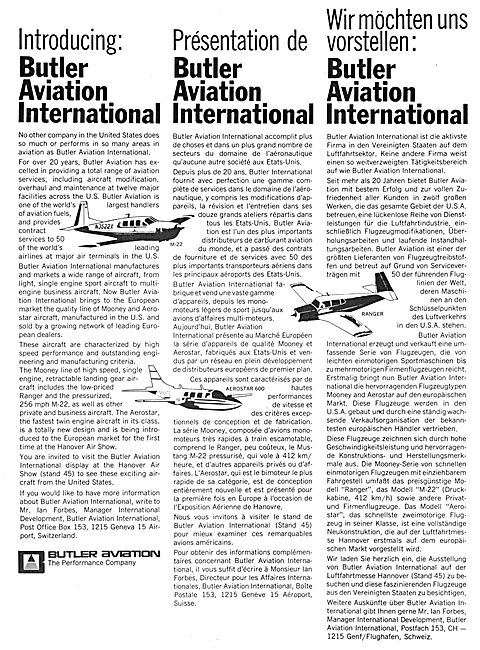 Mooney M22 - Butler Aviation