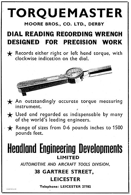 Moore Bros Torquemaster. Headland Engineering Developments