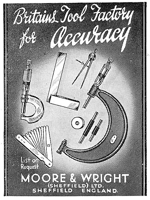 Moore & Wright Precision Measuring Tools