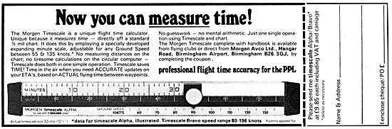 Morgen Timescale Navigation Rule & Computer