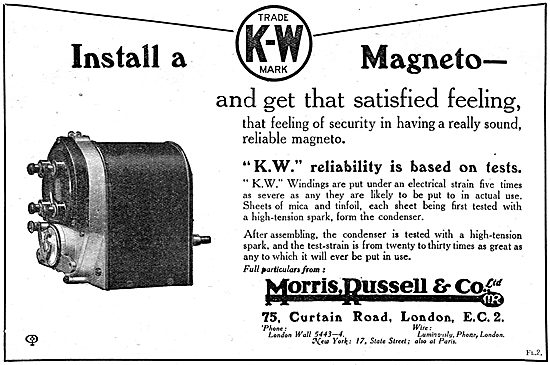 Morris,Russell & Co. K.W.Magnetos