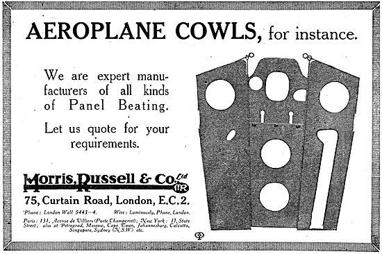 Morris,Russell & Co - Aeroplane Sheet Metal Work