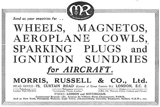 Morris, Russell.  Aircraft Sheet Metal Work & Components