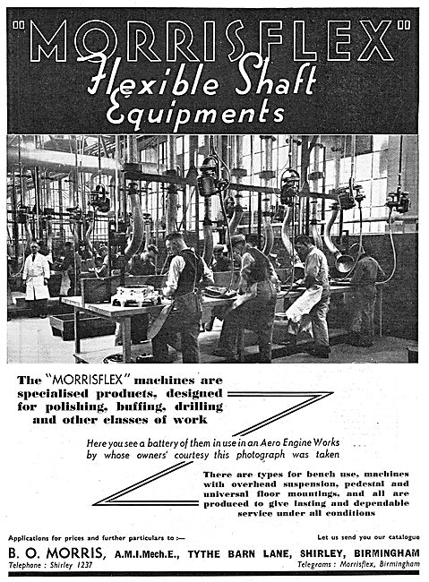 Morris - Morrisflex Flexible Shaft Equipment