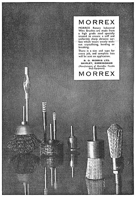 Morris - Morrex Rotary Brushes
