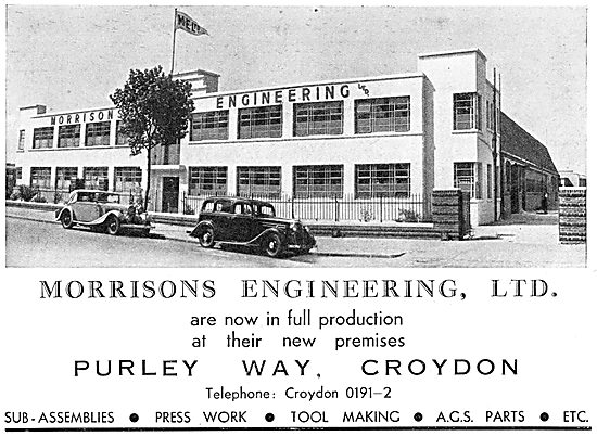 Morrisons Engineering Croydon 1938