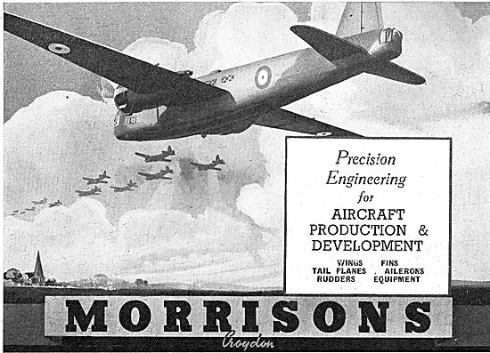 Morrisons Precision Engineering & Production  Aircraft Industry