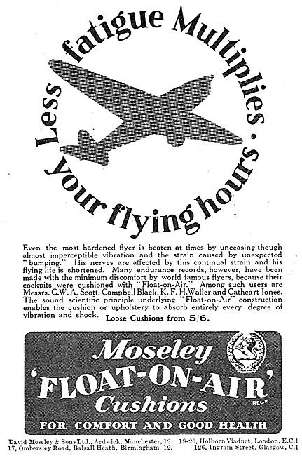 Moseley Float-On-Air Seating Cushions