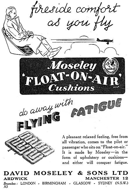 Moseley Float On Air Seat Cushions