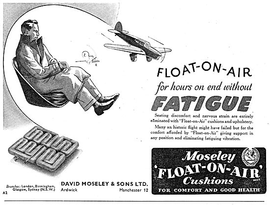 Moseley Float-On-Air Cushions