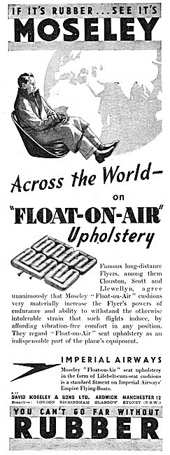 Moseley Aircraft Cabin Upholstery