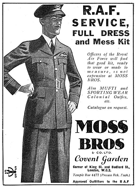 Moss Bros Tailors & RAF Outfitters