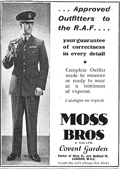 Moss Bros - Approved Outfitters To The RAF