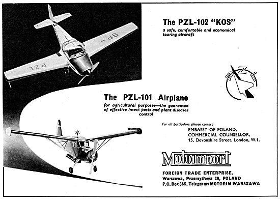 Motoimport PZL-102 Kos -   PZL-101