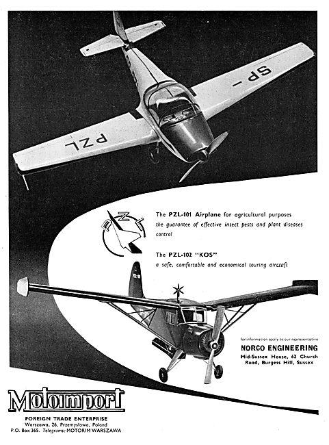 Motoimport - PZL-101  PZL-102 Kos