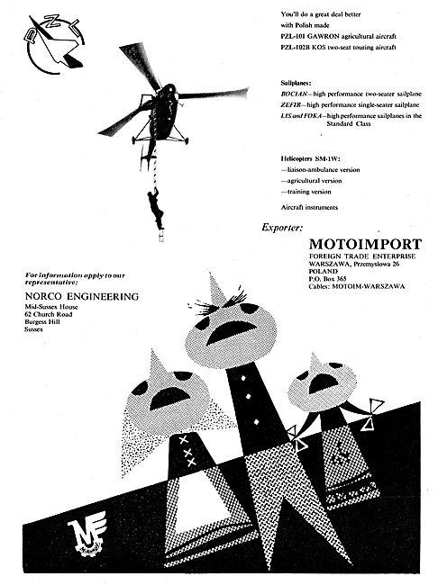 Motoimport - PZL-101 Gawron Agricultural Aircraft: Norco