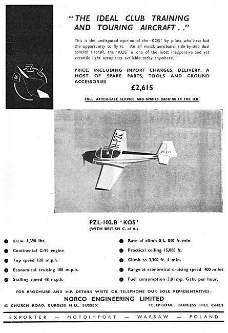 Motoimport PZL-102.B Kos - Norco Engineering