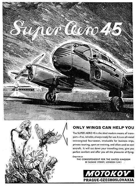 Motokov (Orague) Super Aero 45