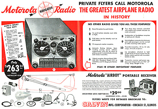 Motorola AIRBOY - Motorola NAV/COM