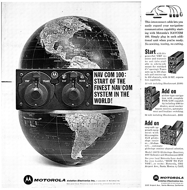 Motorola Avionics - Motorola Nav Com 100