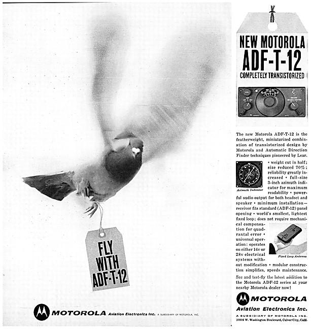 Motorola Avionics - Motorola ADF-T-12